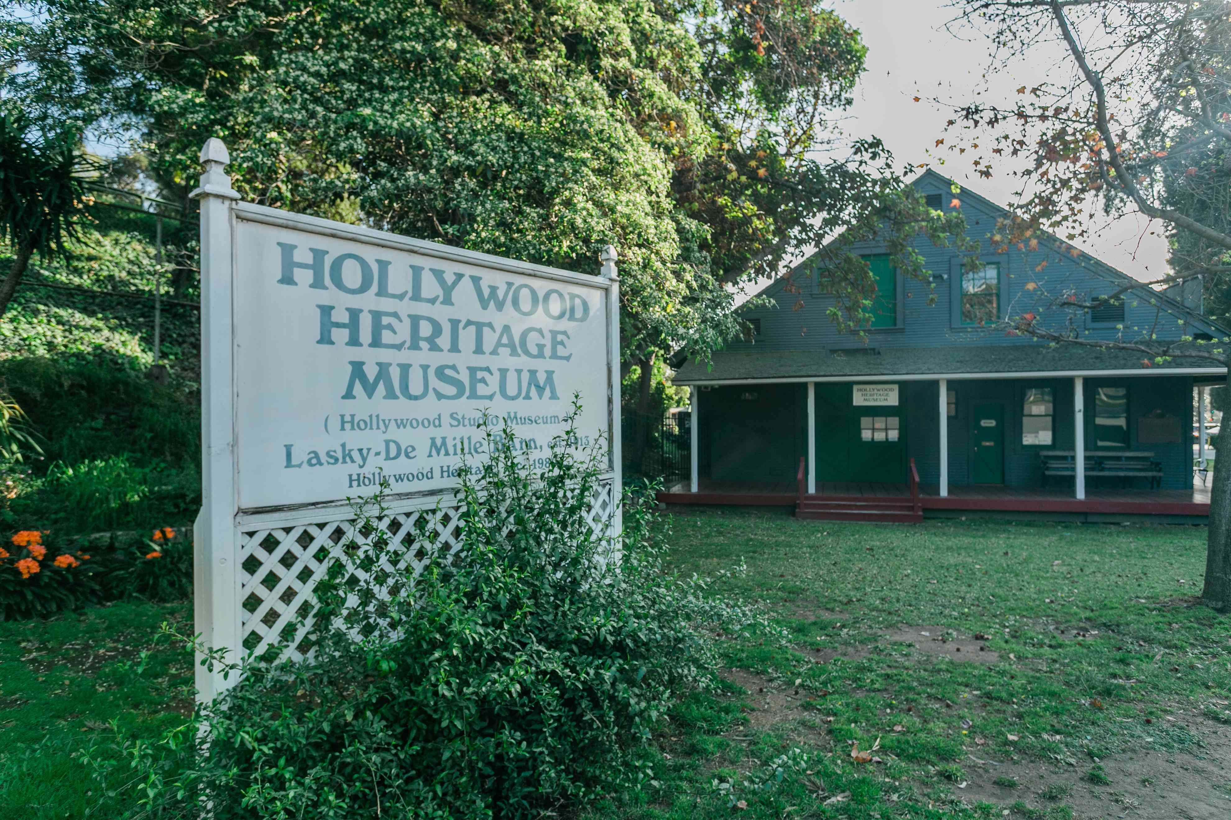 Hollywood Heritage Museum in LA