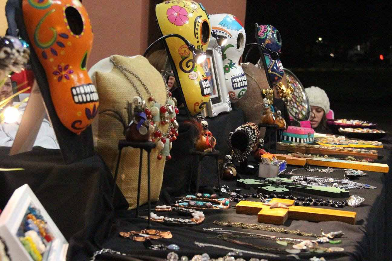 wares on display at the Downtown Chandler Art Walk