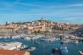 Marseille, France, view of Old Port and city