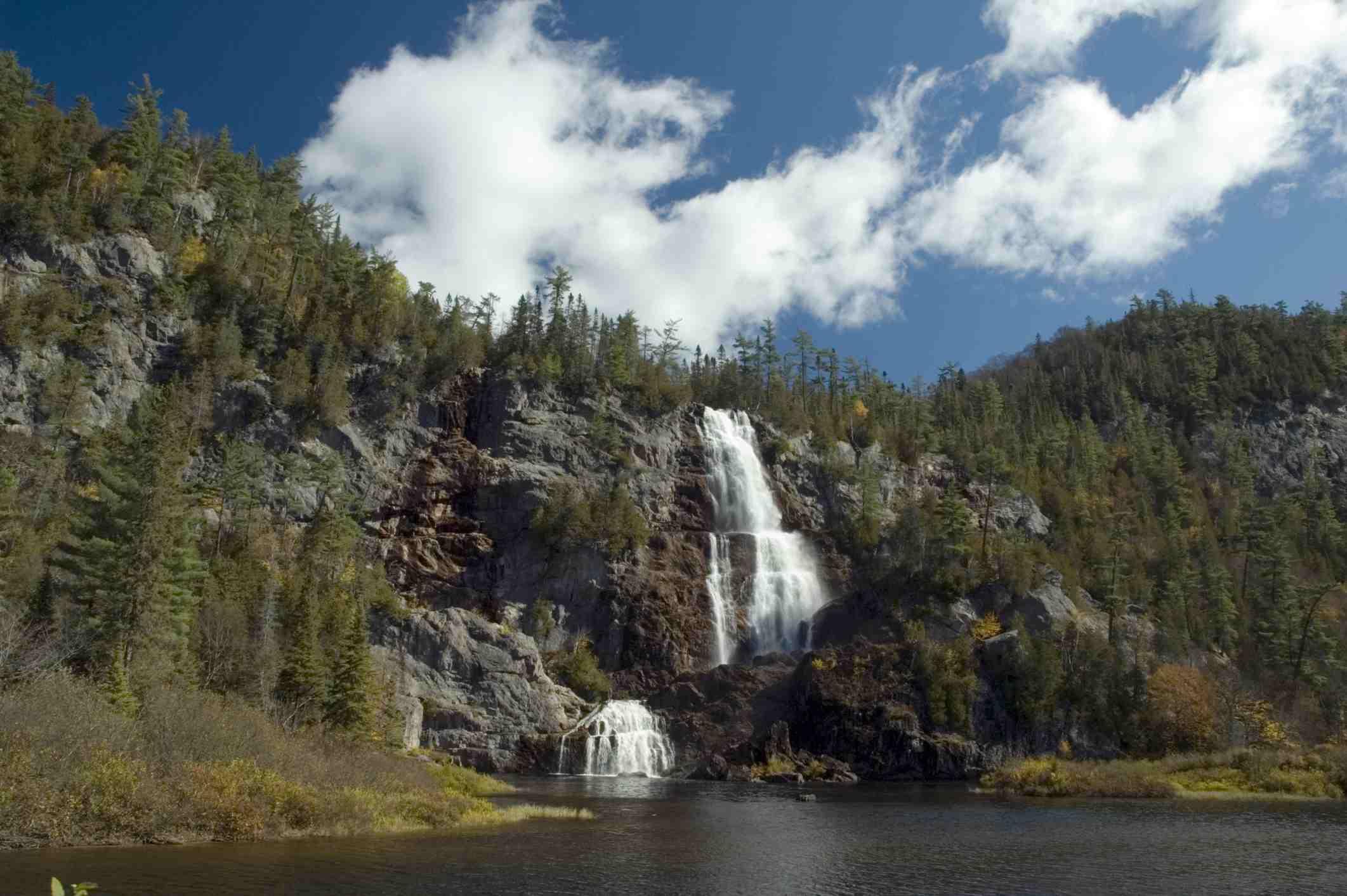 Waterfalls, Agawa Canyon, Wawa, Ontario