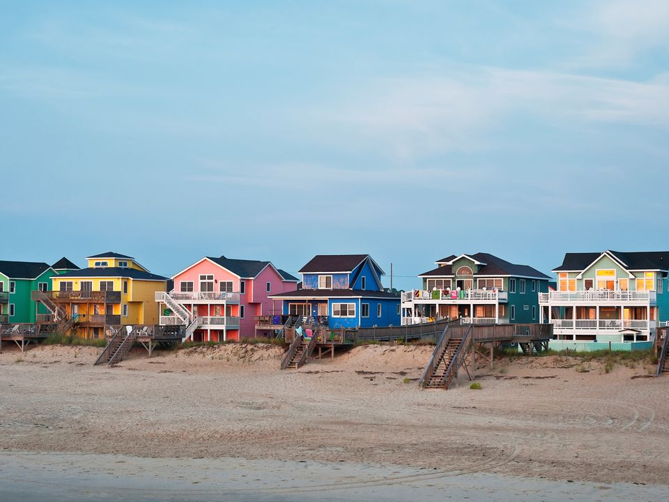 Nags Head Beach Houses On The Nc Outer Banks