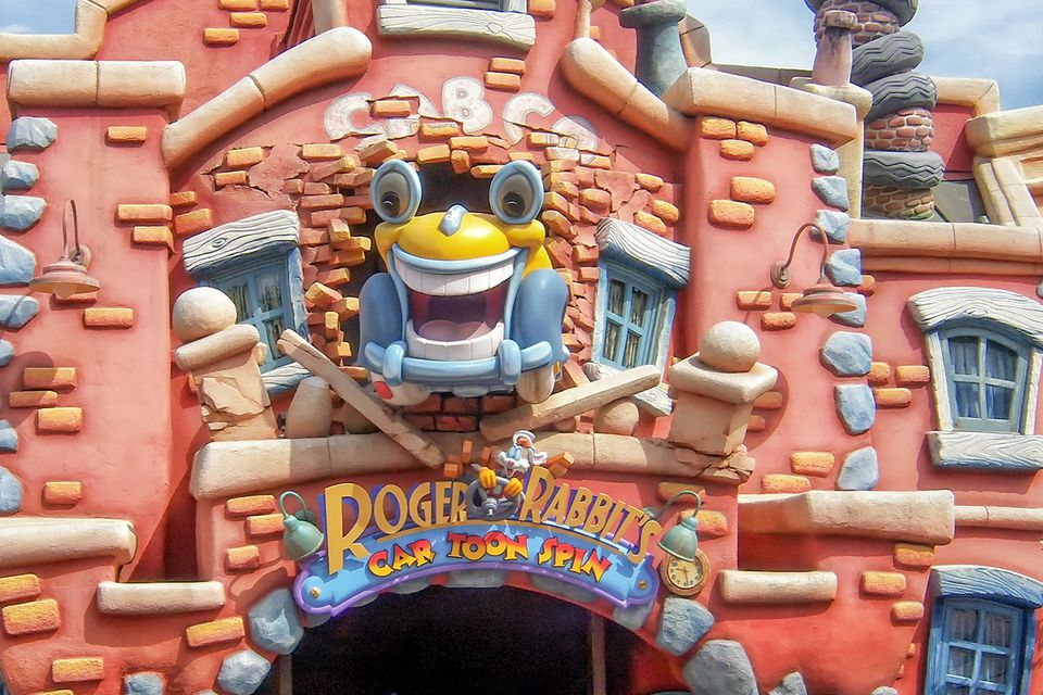 Entrance to Roger Rabbit's Car Toon Spin
