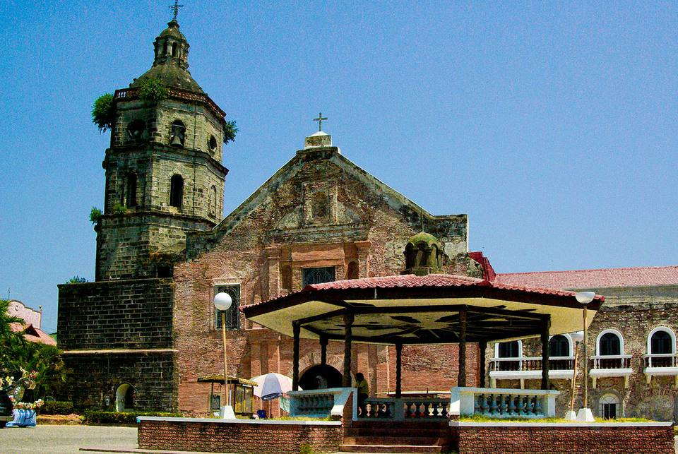 San Agustine church, one of the oldest churches in Pampanga
