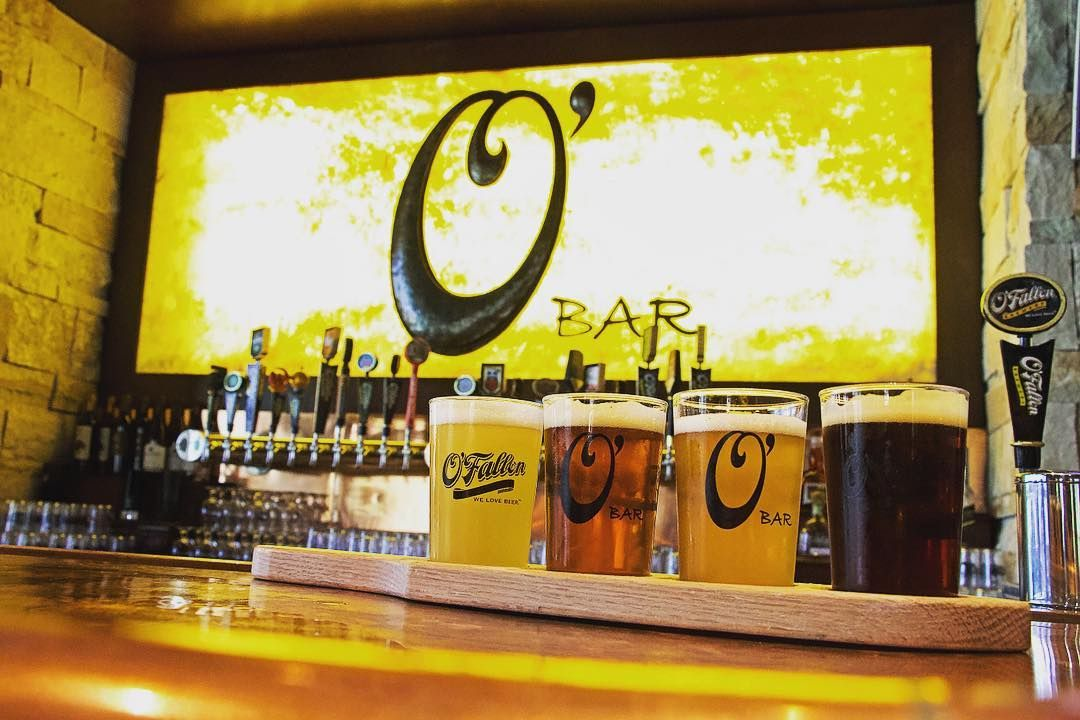 O'Fallon Brewery flight of beer