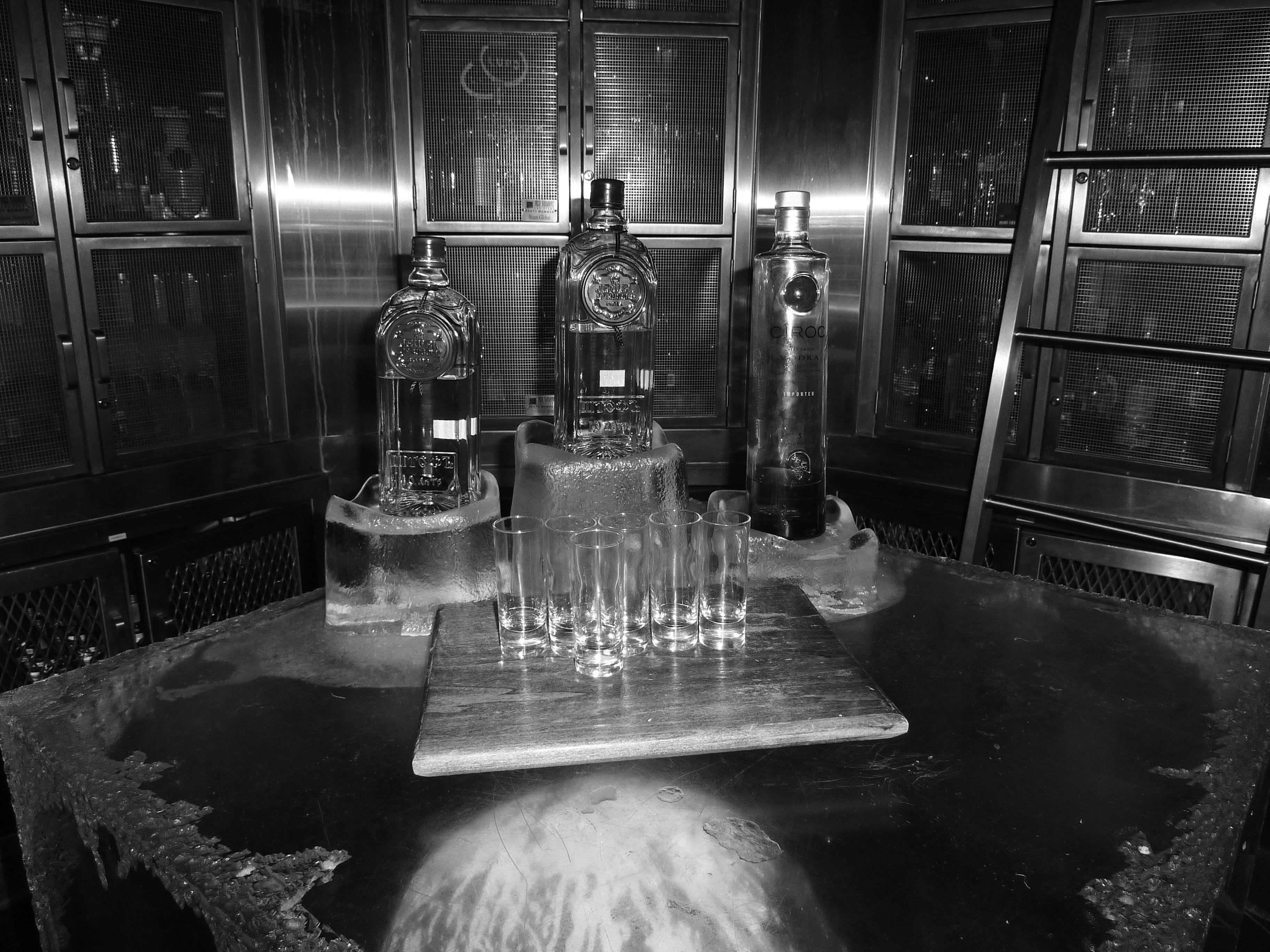 Vodka at Red Square Inside Mandalay Bay Las Vegas