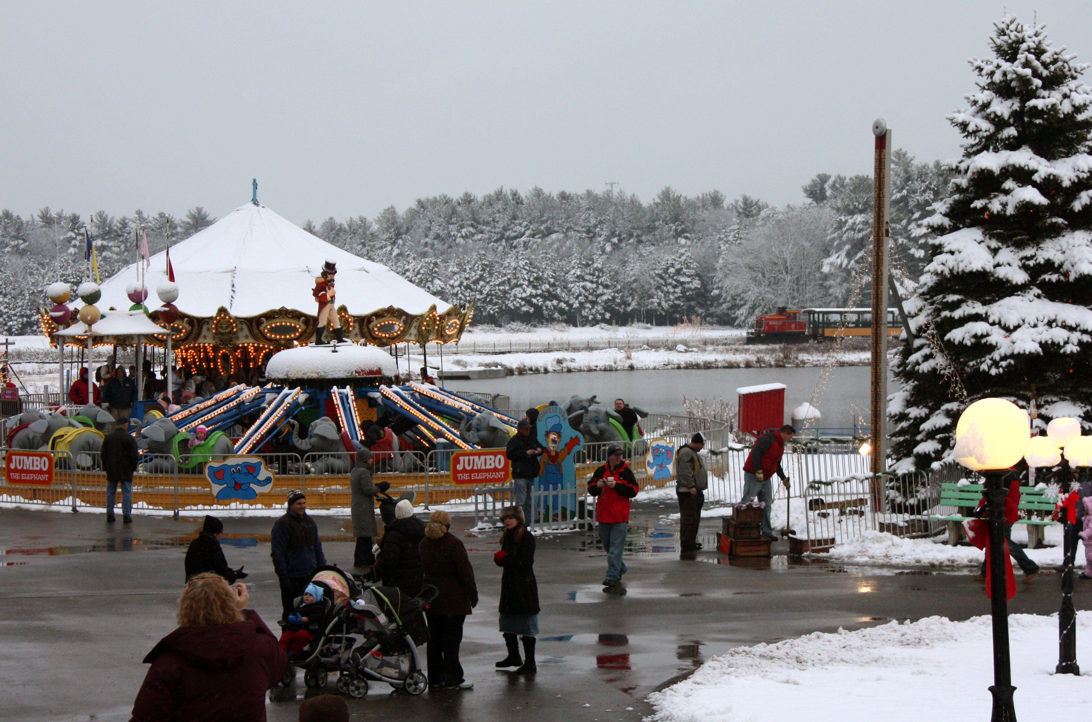 Edaville U.S.A. in the winter