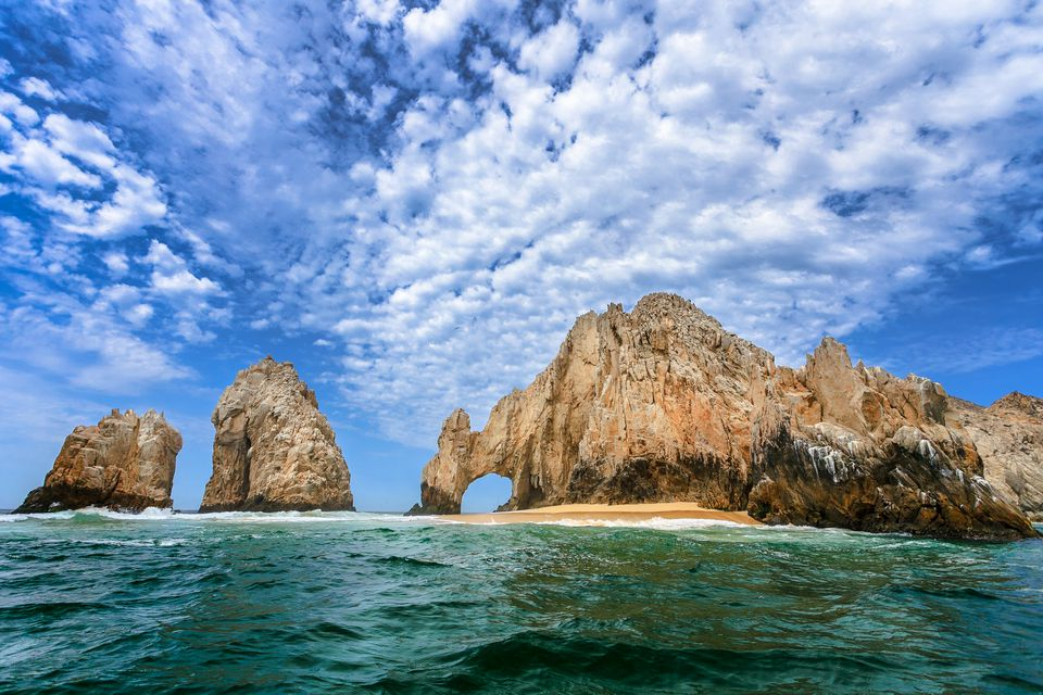 View of El Arco, Cabo san Lucas, Baja California Sur, Mexico
