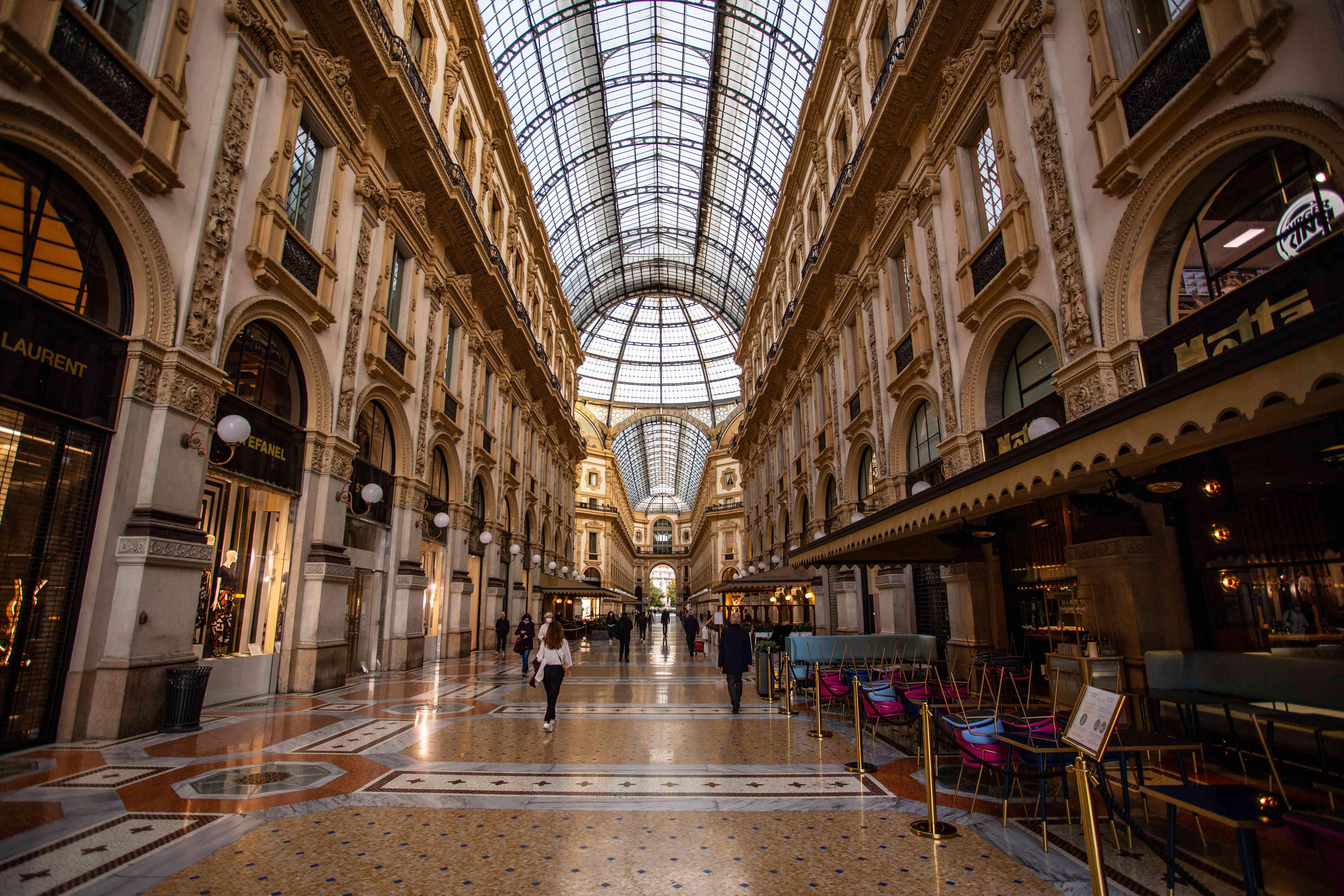 Galleria Vittorio Emanuele II II in Milan