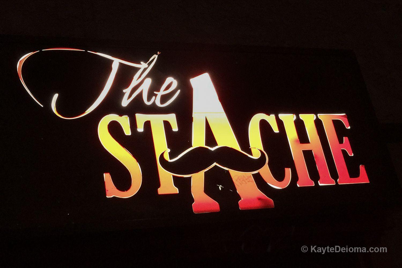 The Stache Bar on 4th Street in Long Beach, CA
