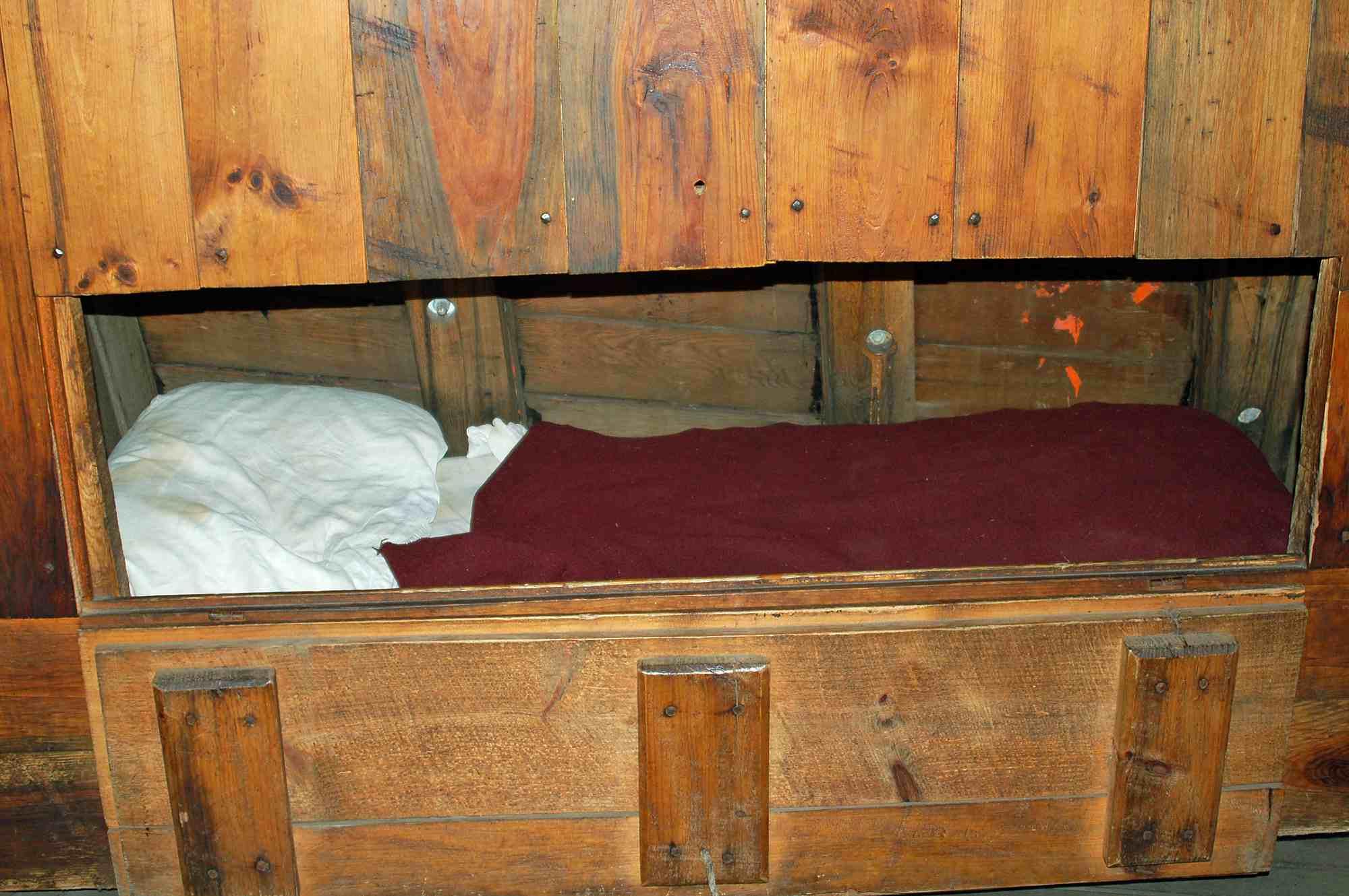 Mayflower II - A Comfortable Berth