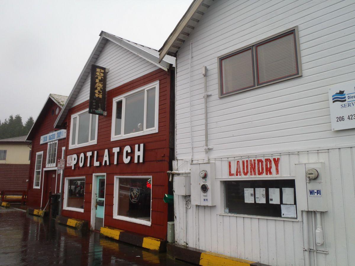 Potlatch Bar and Loft Suites of New York Hotel in Ketchikan, Alaska