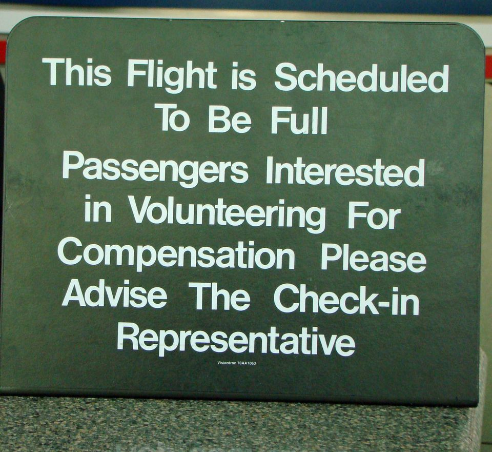 how to avoid getting bumped off a flight
