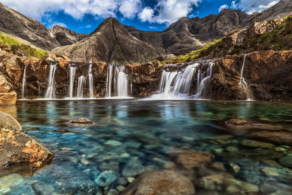Fairy Pool on Isle of Skye
