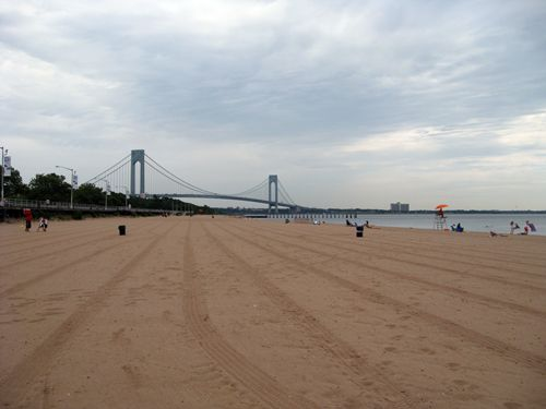 Franklin D. Roosevelt Boardwalk and Beach in Staten Island