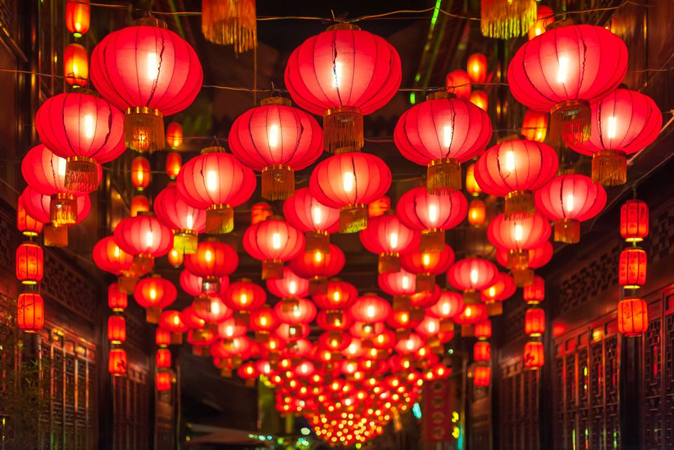 Lanterns for Chinese New Years