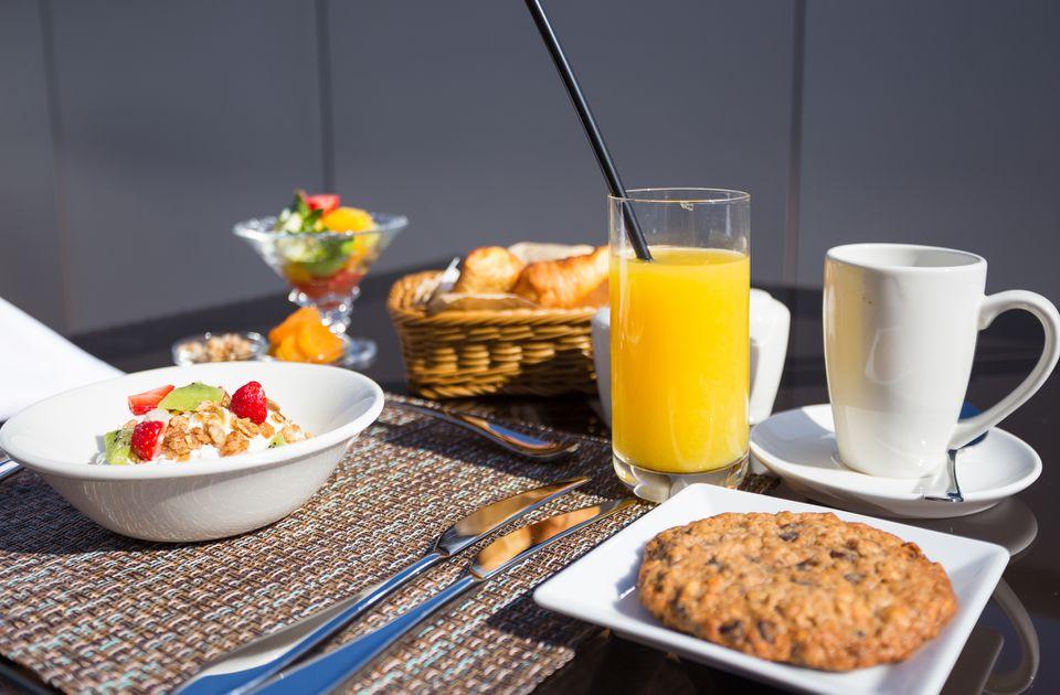 Desayuno en el Hilton Garden Inn