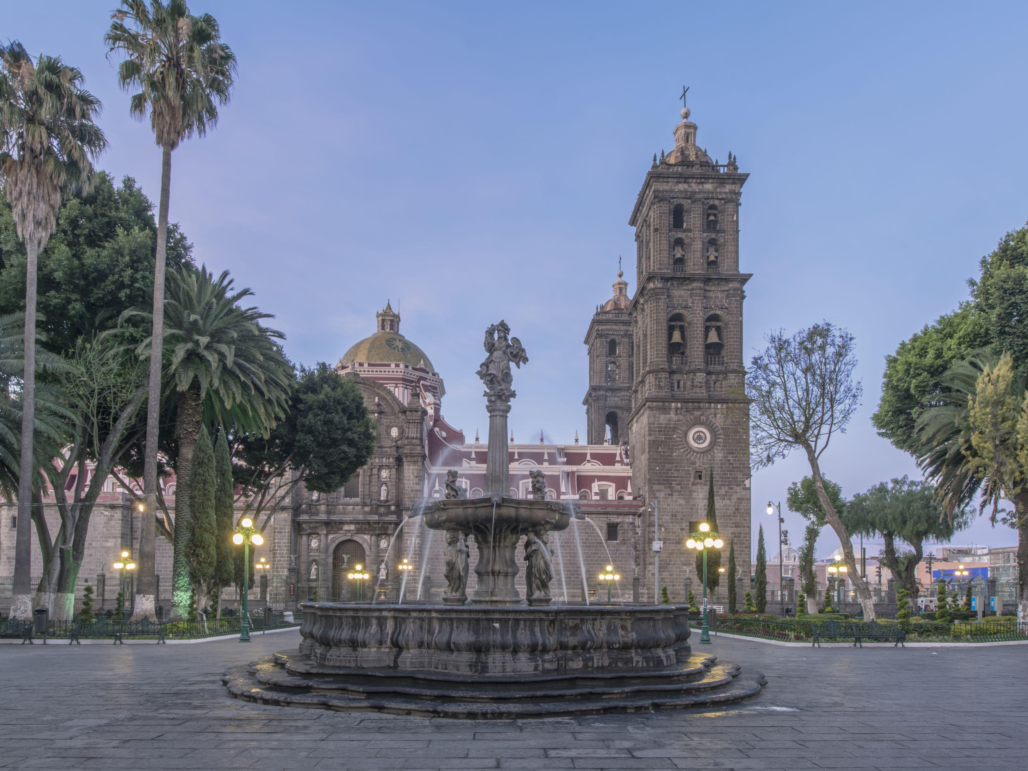 Zócalo de Puebla, uno de los más bellos de México