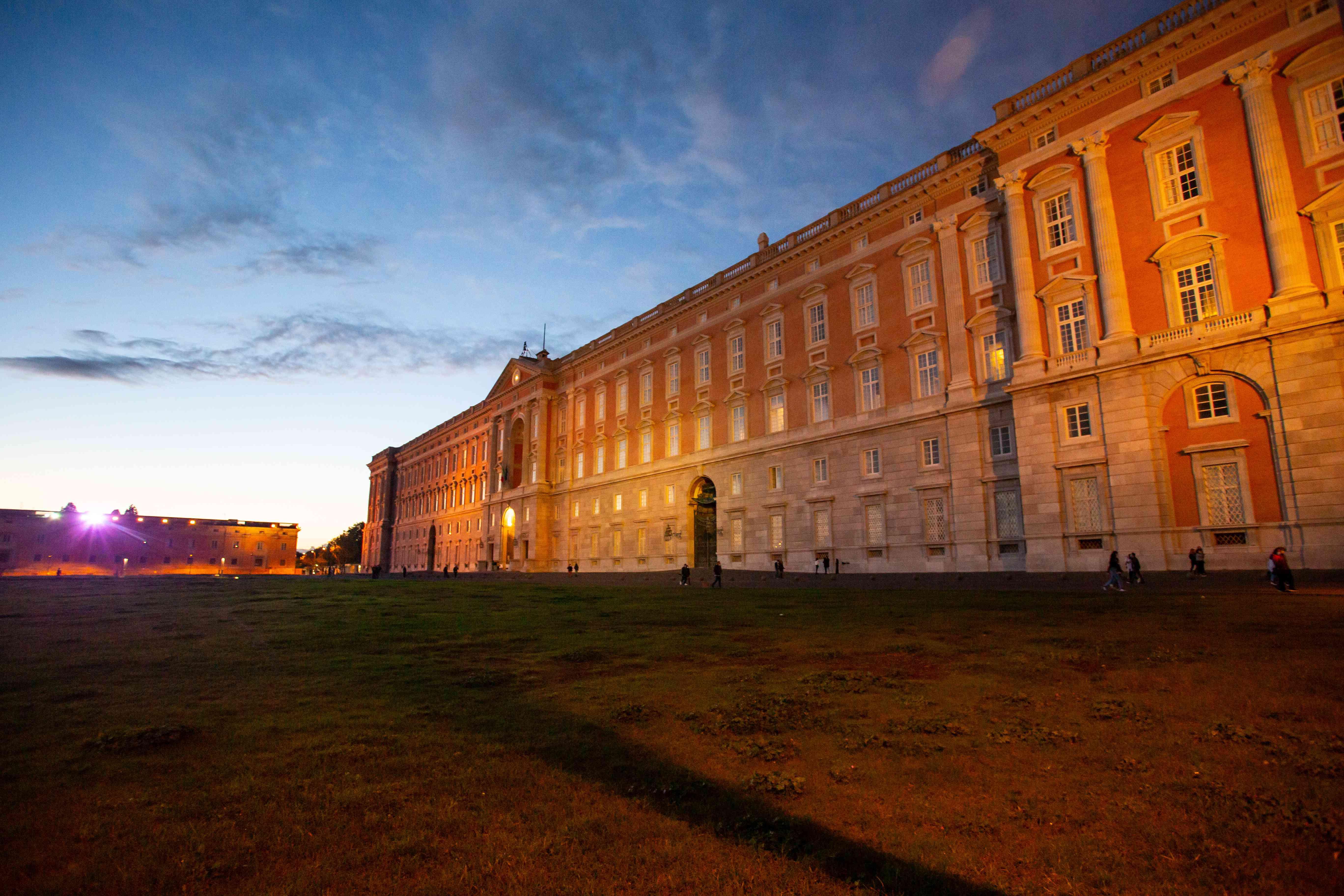 Caserta Royal Palace in Italy