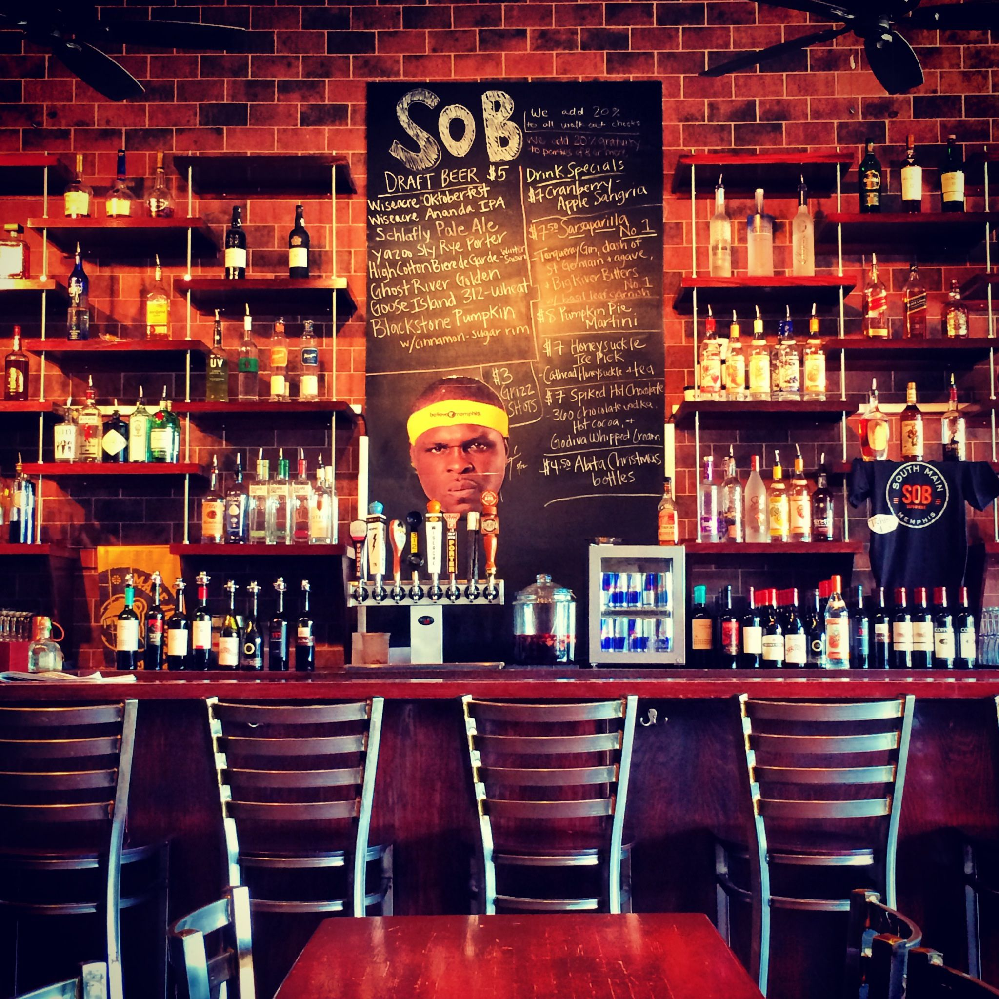 Monday Night Drink Specials In Memphis