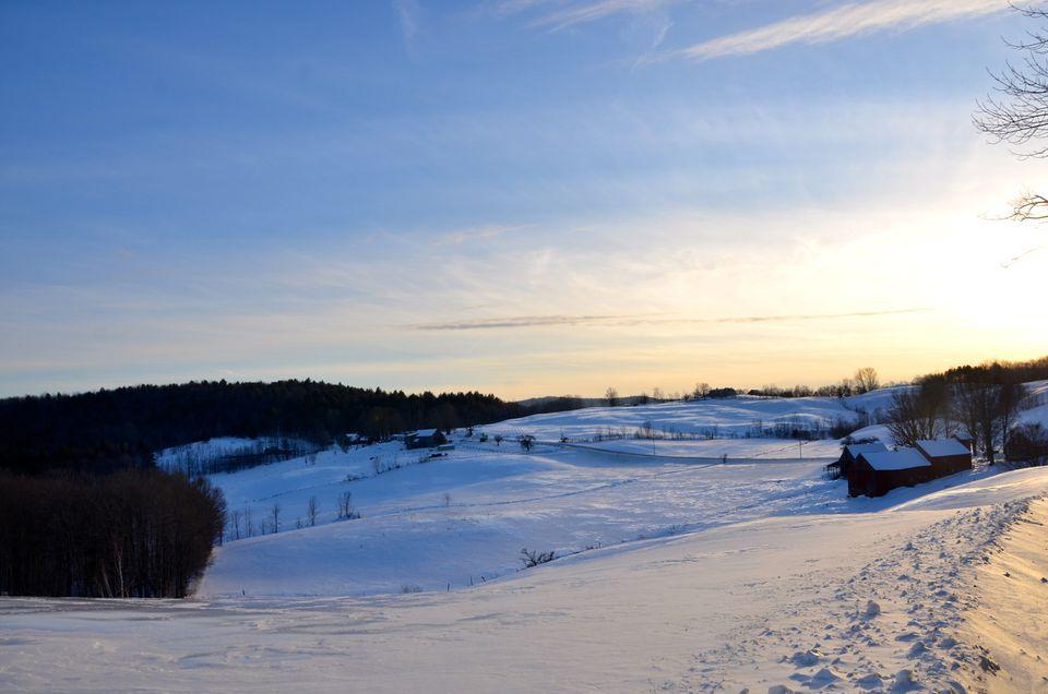 Jenne Farm Winter Scene