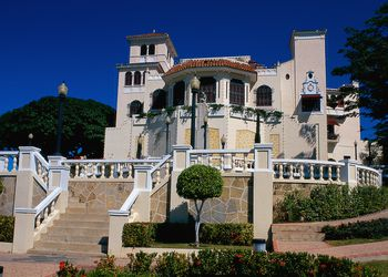 Main building of Castillo Serralles