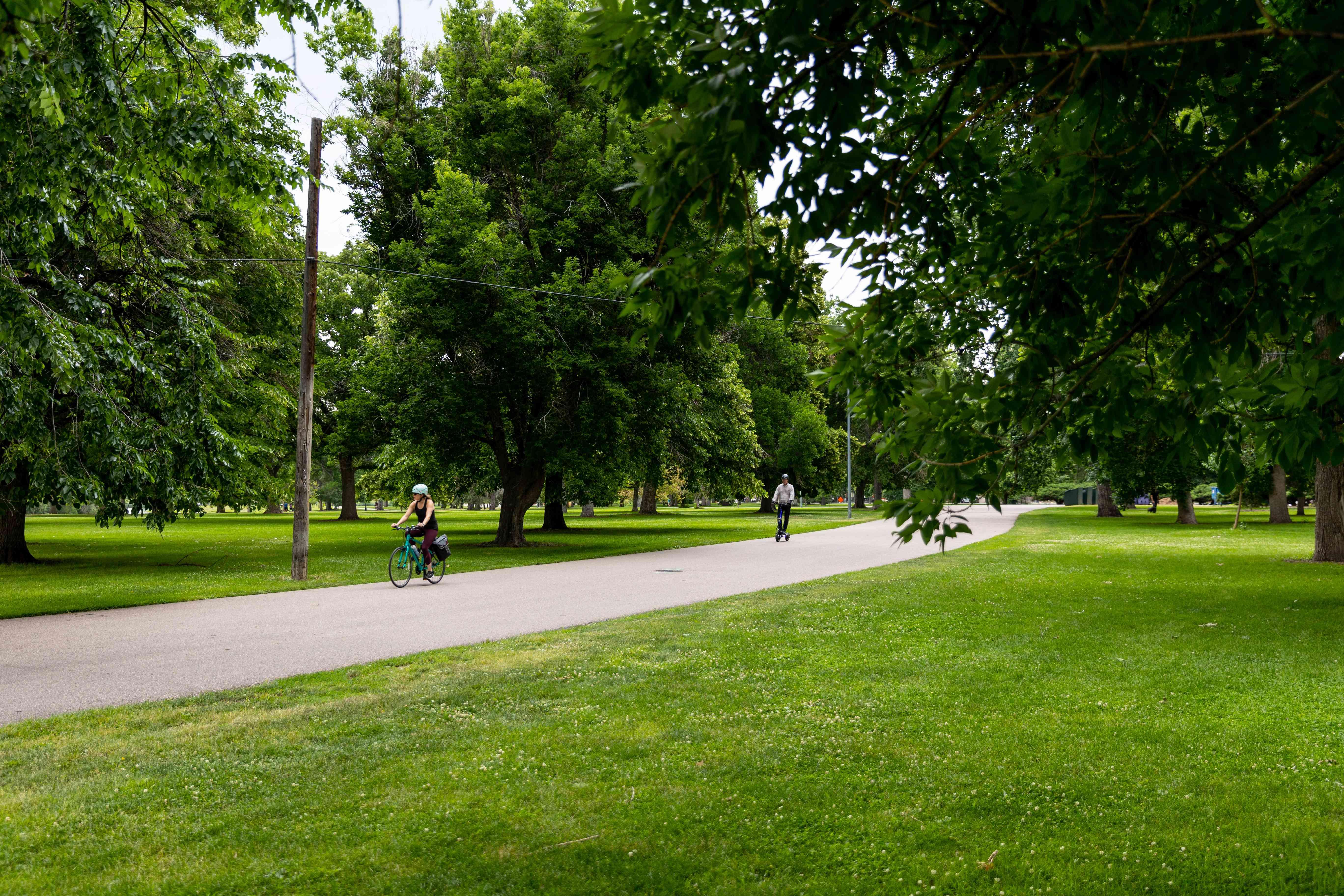 City Park Bike Loop in Denver