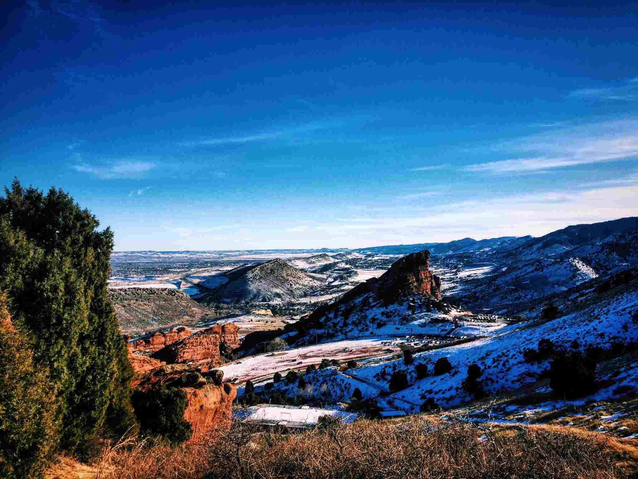 View of Red rocks amphitheater