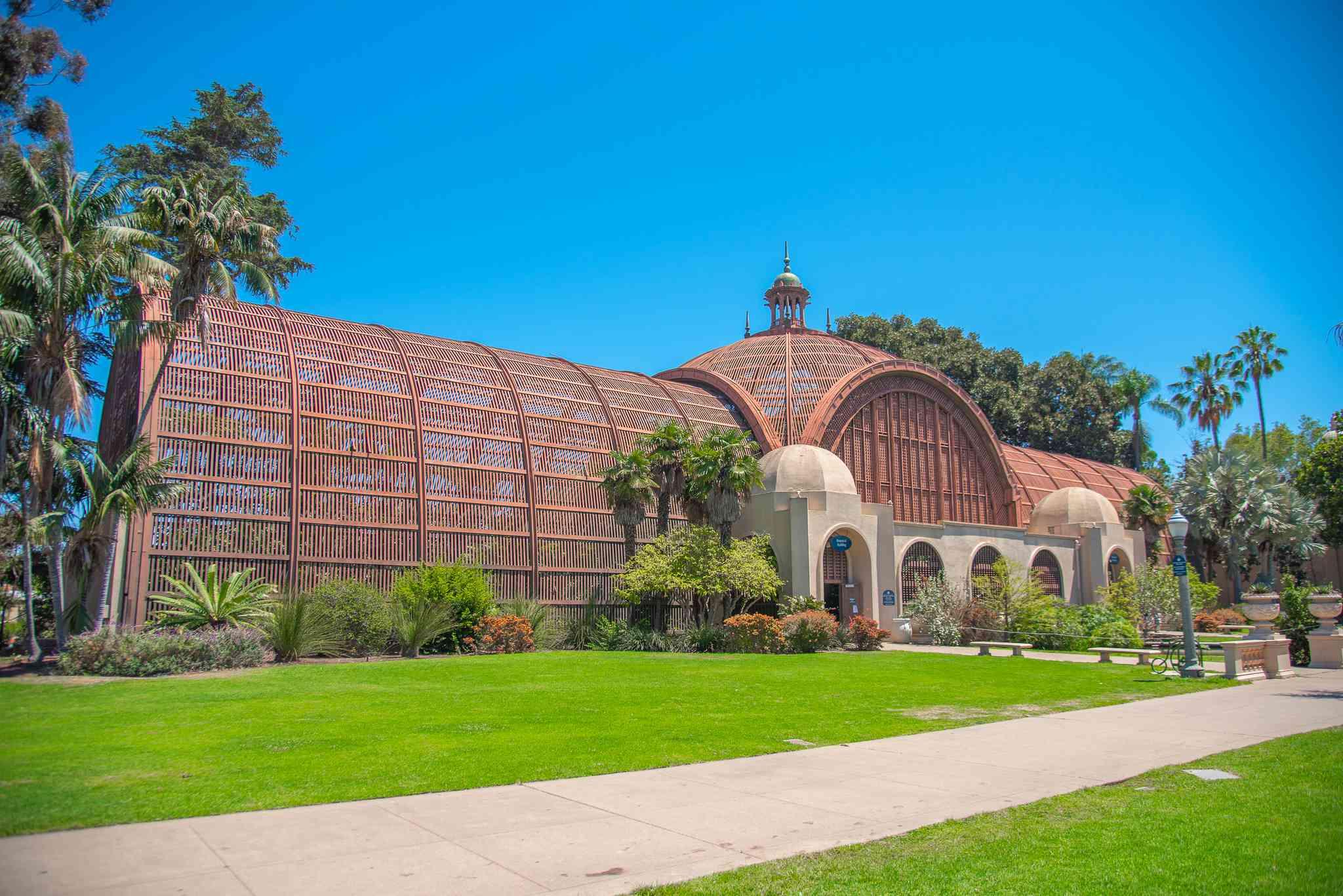 The Botanical Building en Balboa Park en San Diego