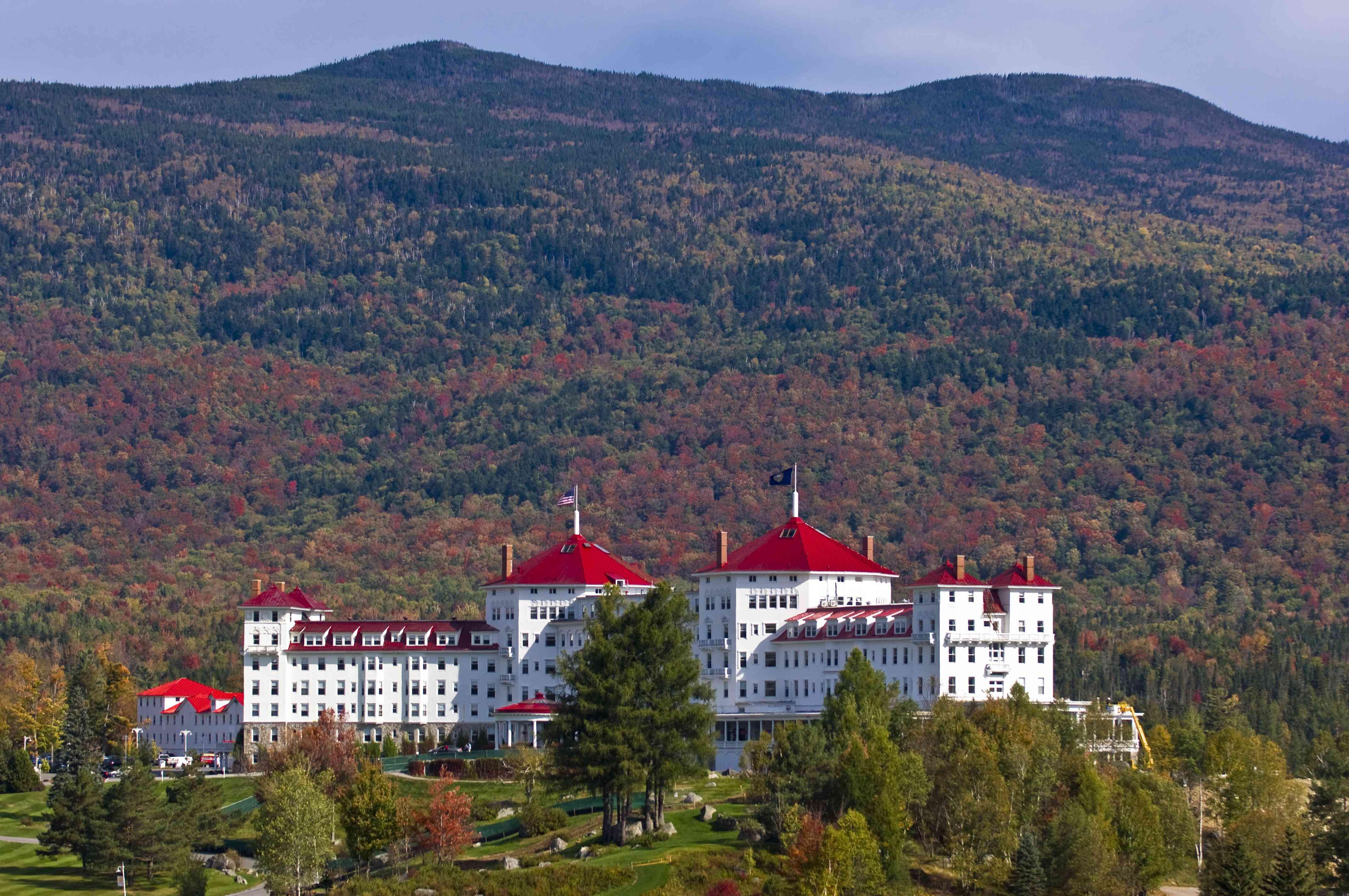 Fall, winter, spring, summer: all stupendous at Omni Mount Washington Resort
