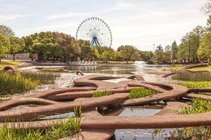 Leonhardt Lagoon at the Fair Park, Dallas