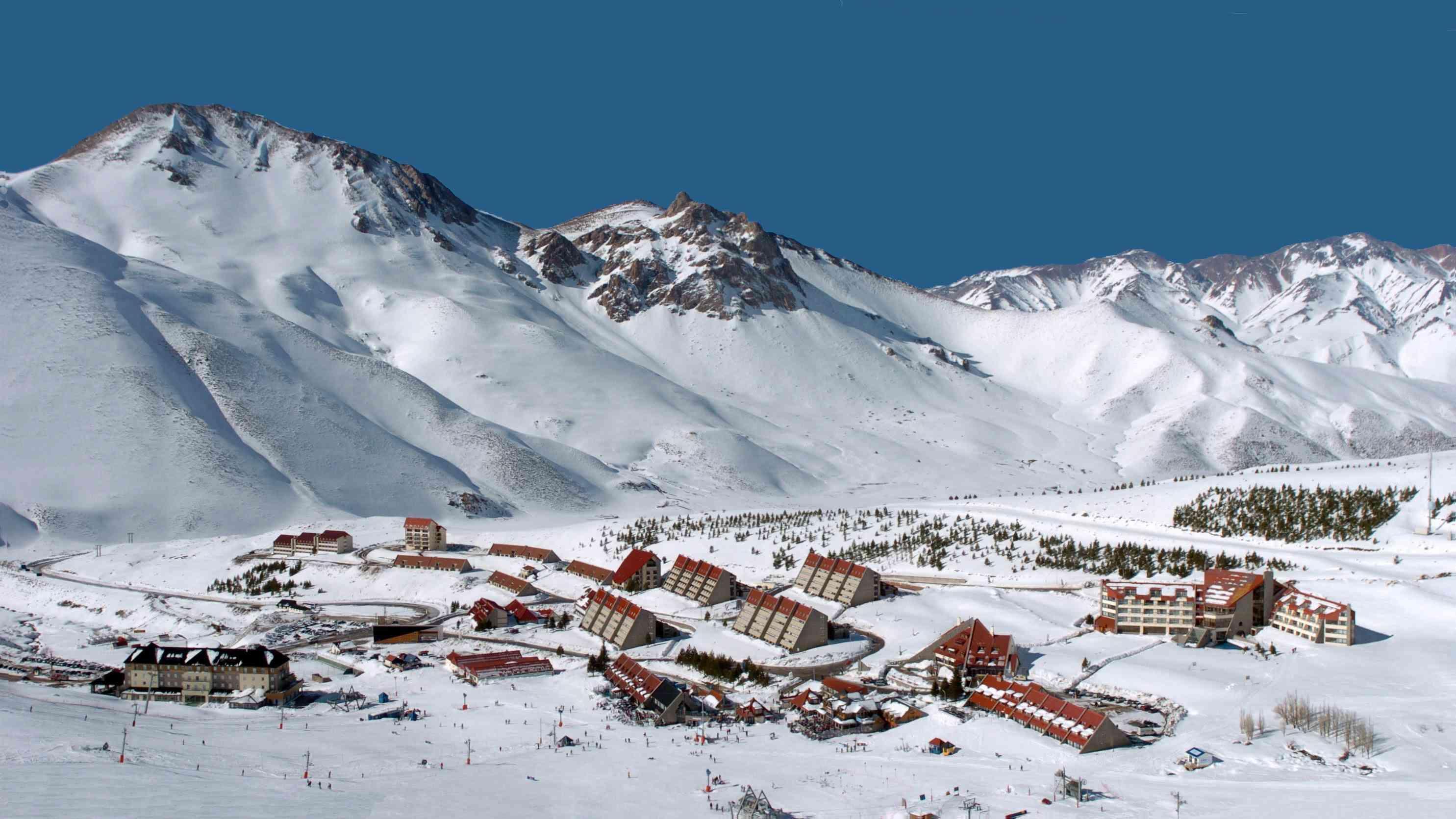 Centro de esquí Valle de Las Leñas