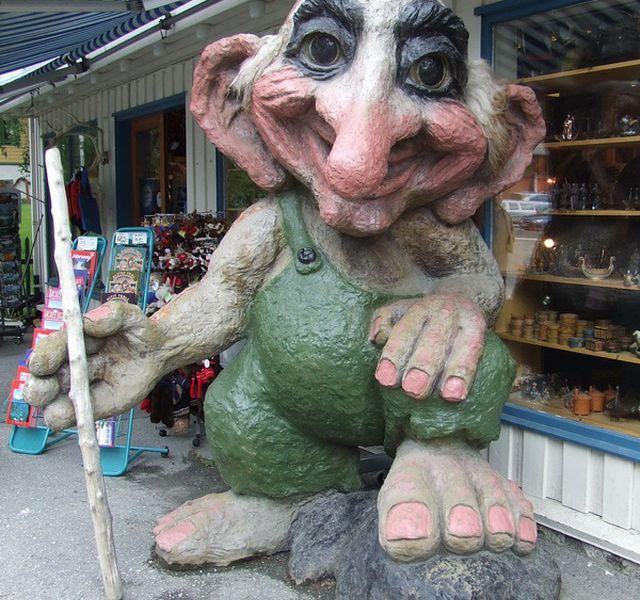 Troll in Voss, Norway