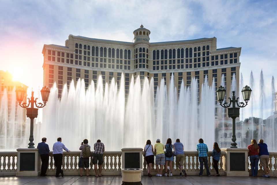 Fountains of Bellagio, Bellagio Resort and Casino,