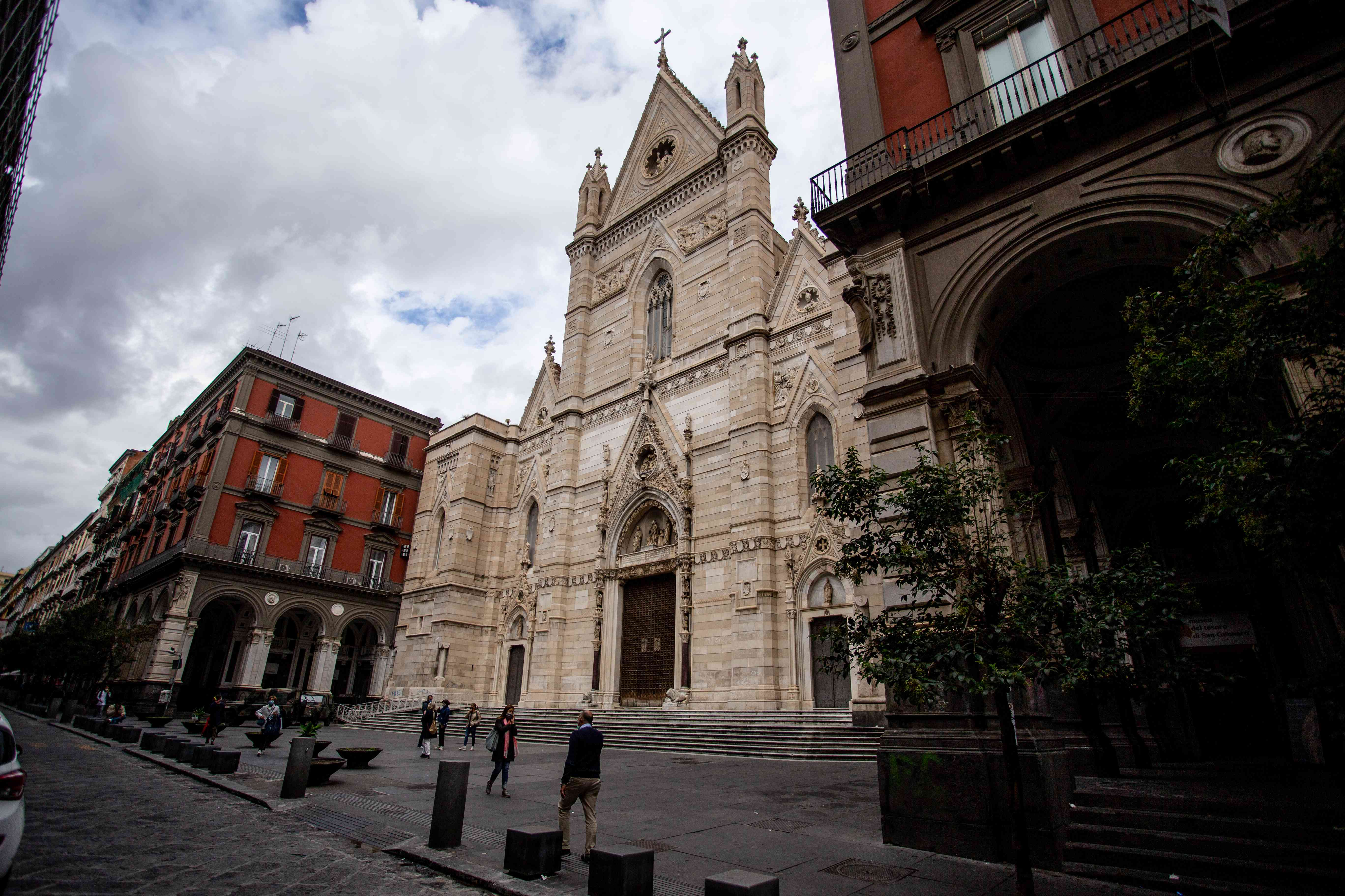 Naples Cathedral in Italy