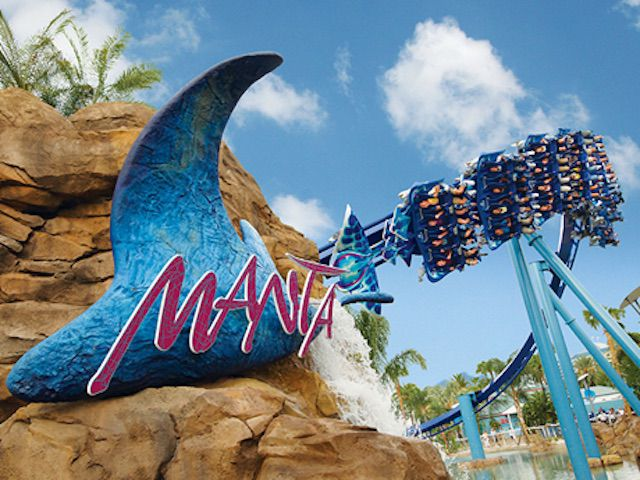 Manta Review Of Seaworld Orlando S Flying Coaster