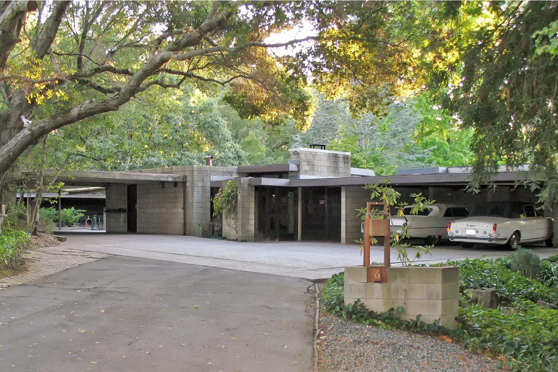 Maynard Buehler House Frank Lloyd Wright In Orinda