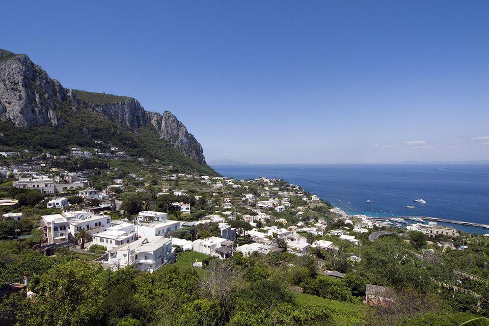 The city of Marina Grande, Capri - Italy.
