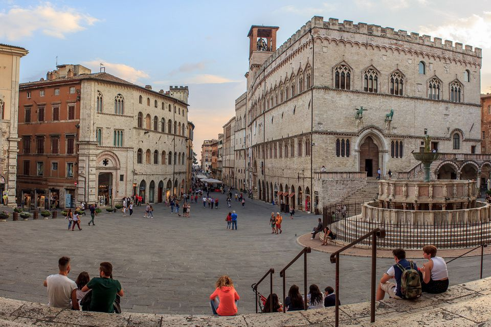 Perugia Hill Town in Central Italy