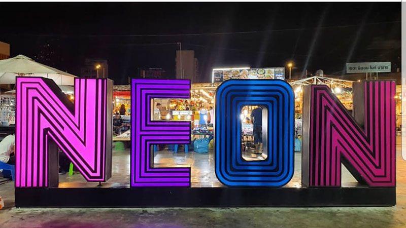 Neon Night Bazaar