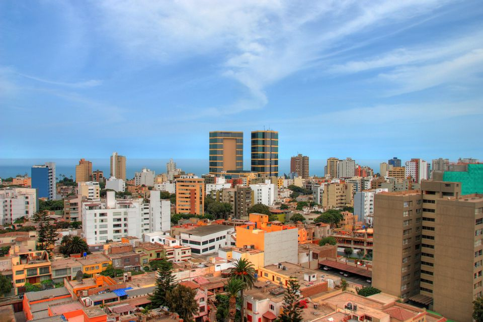 View of Miraflores, Lima