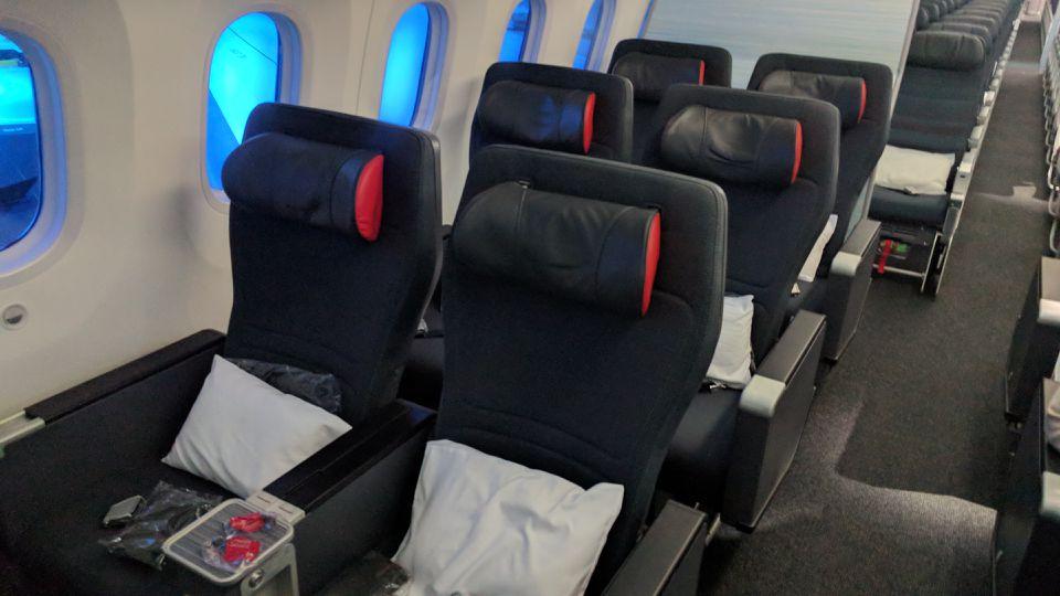Air Canada 787-9 Premium Economy Class seats