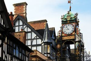 Chester Walls Clock in Chester, Cheshire, UK