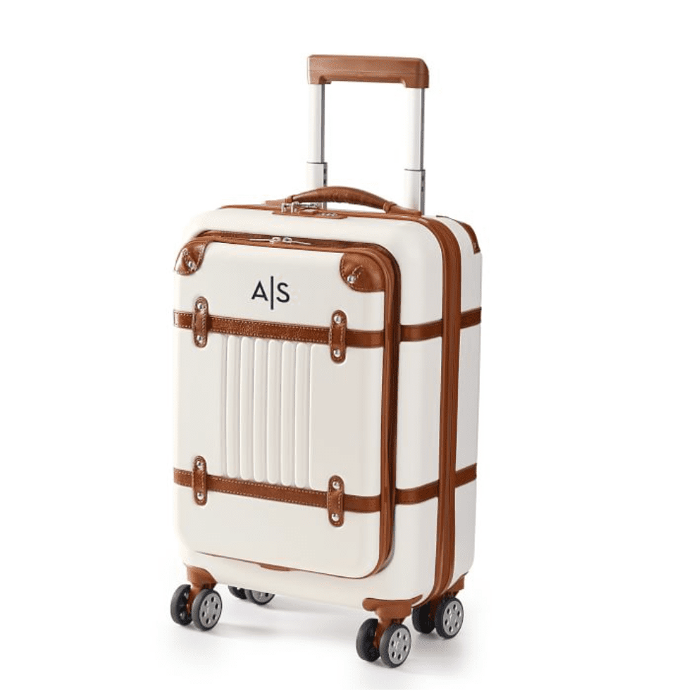 Mark & Graham Terminal 1 Zip Front Carry-On Luggage