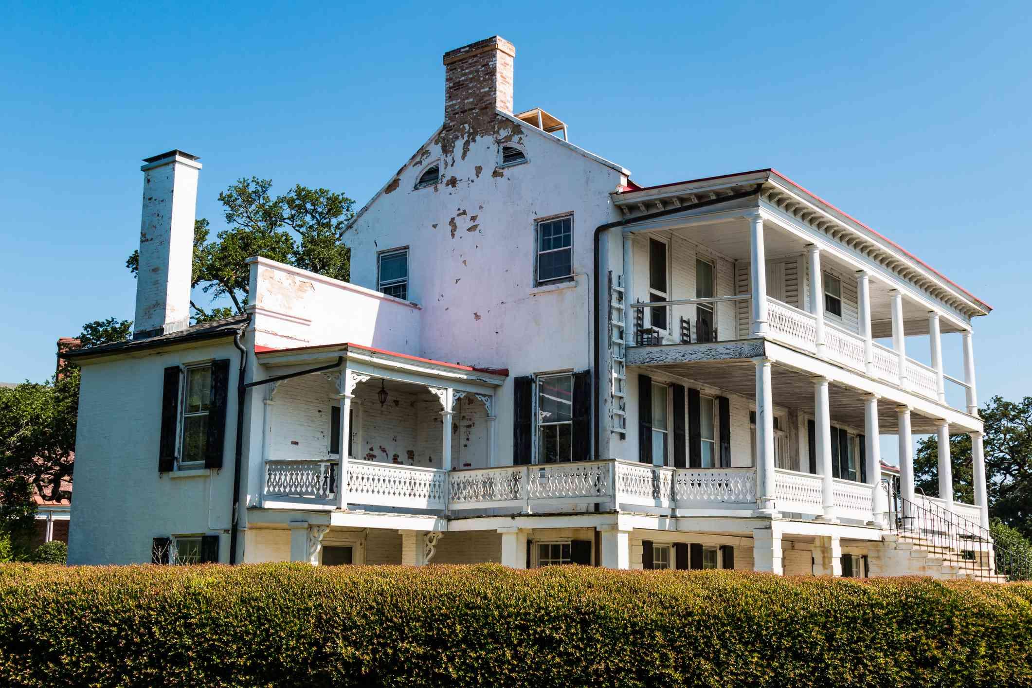 Quarters No. 1 at Fort Monroe in Hampton, Virginia