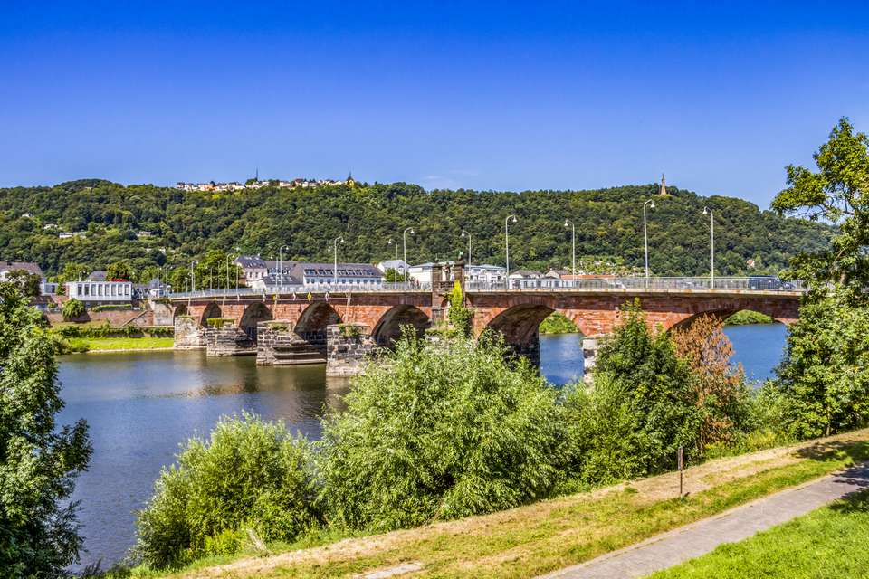 Trier Roman bridge, Germany