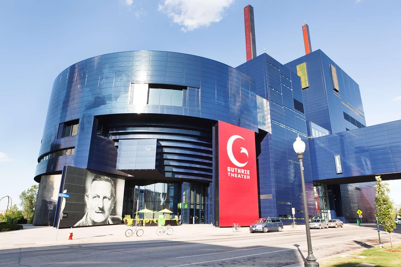 The Guthrie Theater In Minneapolis Minnesota
