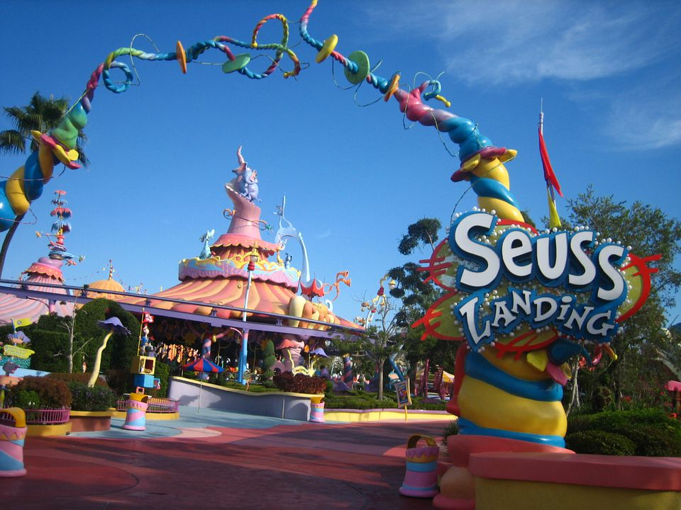 Entrance to Seuss Landing
