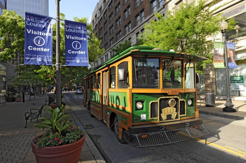 Trolley bus, Louisville, KY