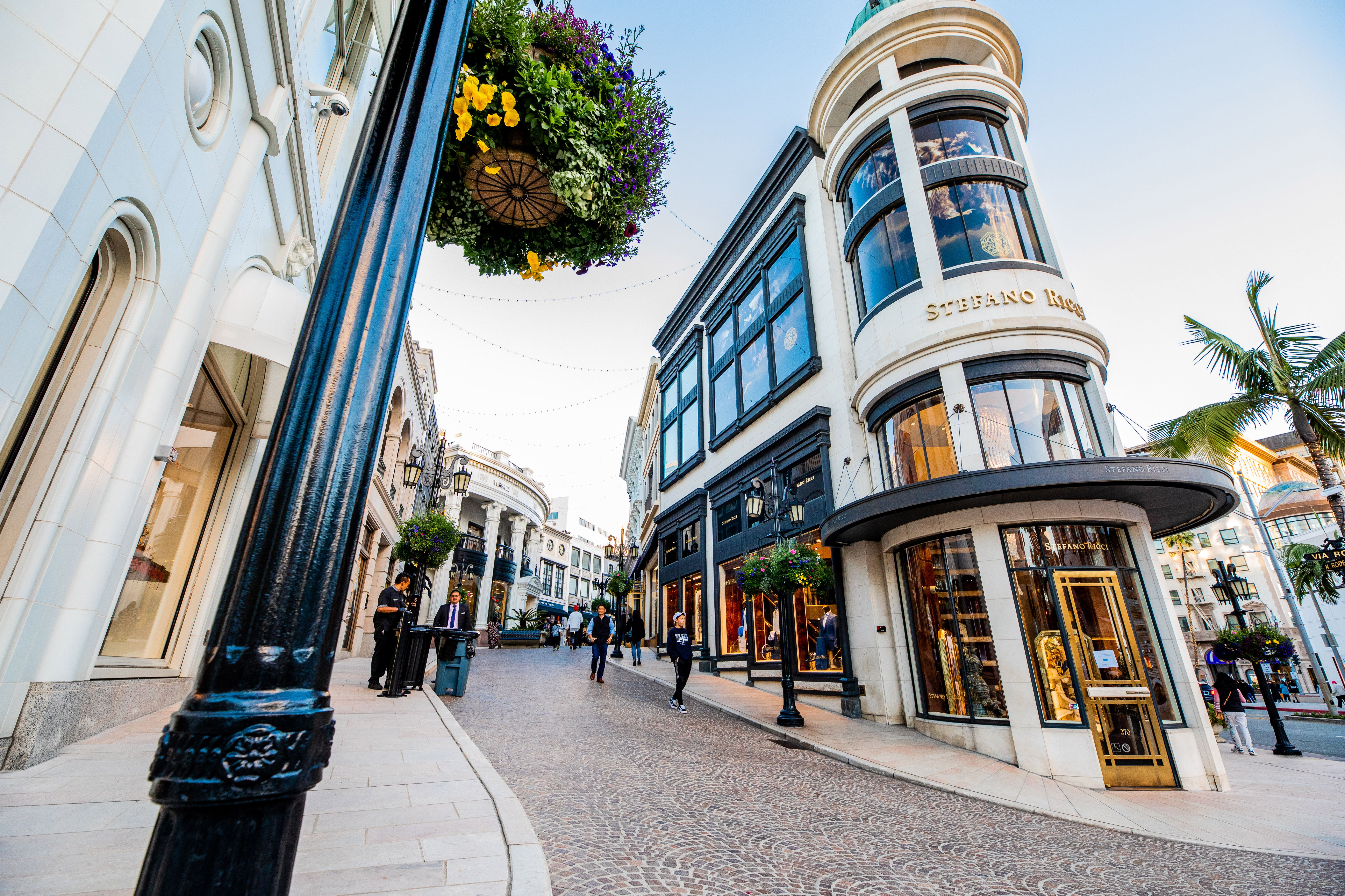Shops on Rodeo Drive