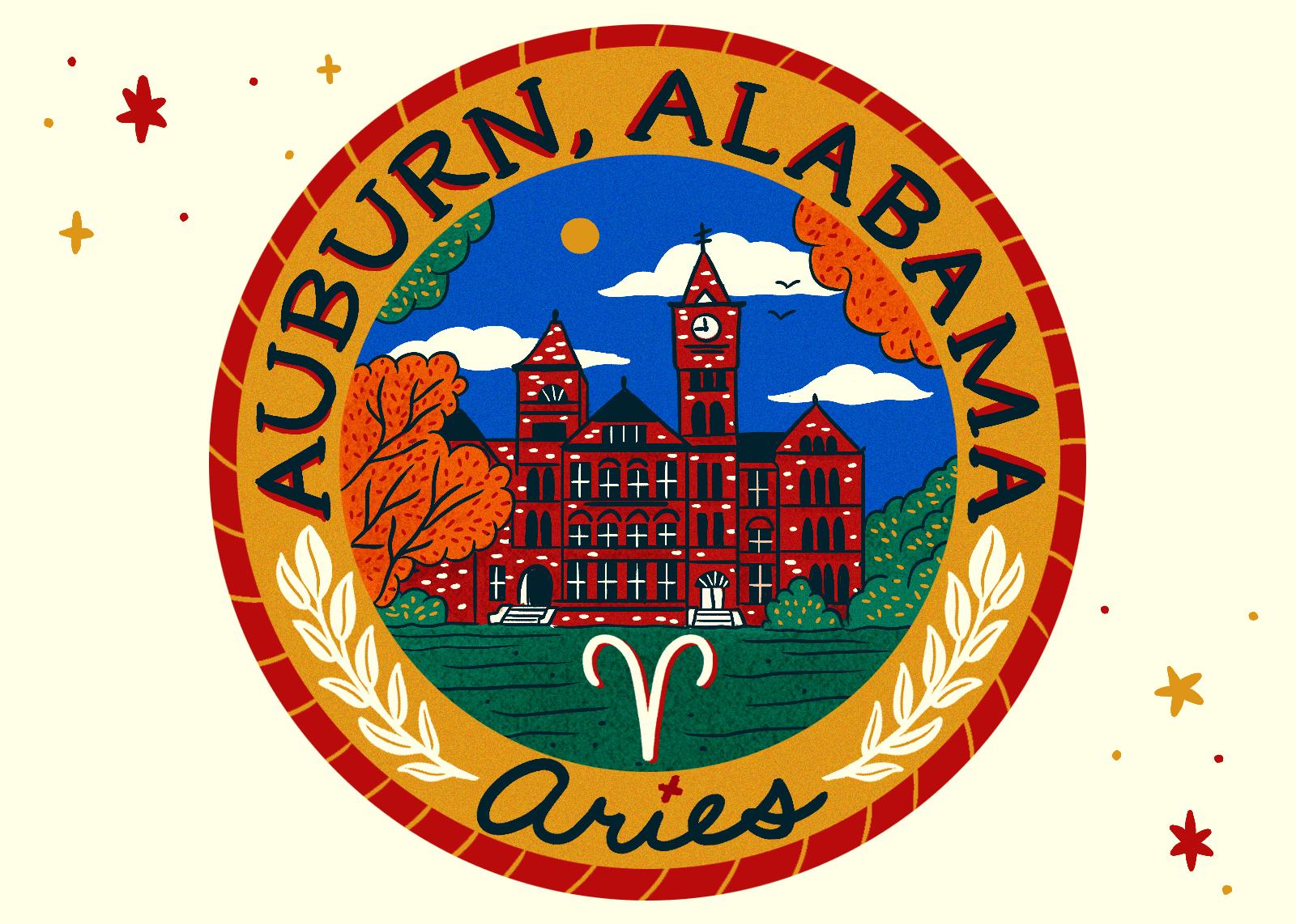 Illustration of Auburn, Alabama